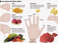 ¿No tienes claro cuáles son tus raciones recomendadas de alimentos?  Te lo explicamos hoy en nuestro artículo.