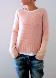 Knitting Patterns Ravelry Knitting Pattern Pink memories by Isabell Kraemer / Isabell Kraemer Pullover Sweater Raglan Simple … Diy Pullover, Pullover Sweaters, Cardigans, Ravelry, Garter Stitch, Pulls, Knitwear, Knitting Patterns, Easy Knitting