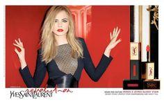 Cara Delevingne YSL Cosmetics Ad Champagne.