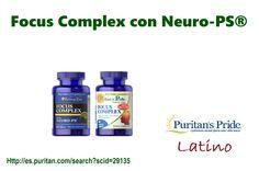 Focus Complex con Neuro-PS® contiene vitaminas C y E, selenio y zinc para ayudar a neutralizar los radicales libres que dañan las células.** http://es.puritan.com/search?scid=29135