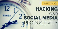 8 tools for hacking your social media productivity | Blog | Twitter Counter