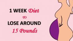 Observe This One-Week Weight loss program Plan to Lose 15 Lbs Naturally at Residence 🍔 Diet Plans To Lose Weight, Weight Loss Plans, Fast Weight Loss, Weight Loss Program, Weight Loss Tips, How To Lose Weight Fast, Losing Weight, Diet Program, 1 Week Diet