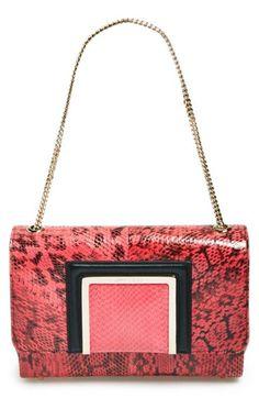 b4a66d9395ca Jimmy Choo  Alba  Snakeskin Shoulder Bag available at