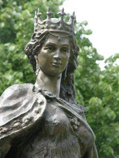 Anne of Kiev, Luxemburg Gardens