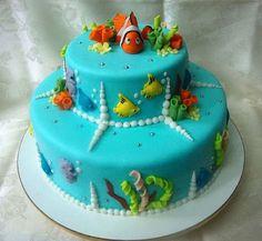 Themed Cakes, Birthday Cakes, Wedding Cakes: Nemo Themed Cakes