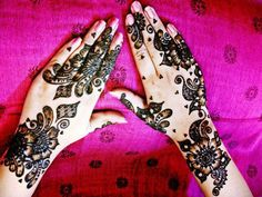 Henna Mehndi Design Arabic & Mehndi Design Collection