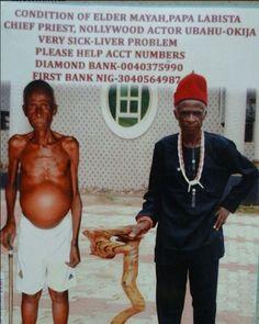 Veteran actor Elder Maya is dead and Nollywood is not mourning him