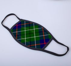 non medical face covering with Duncan printed tartan - only from ScotClans