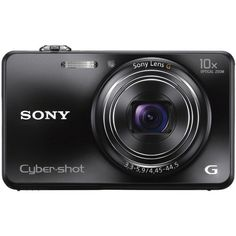 Sony Cyber-shot MP Exmor R CMOS Digital Camera with Optical Zoom and LCD (Black) Model) - Point & Shoot Digital Cameras - Electronics - Frequently updated comprehensive online shopping catalogs Sony Digital Camera, Sony Camera, Camera Case, Video Camera, Cameras Nikon, Still Camera, Optical Image, Point And Shoot Camera, Digital Cameras