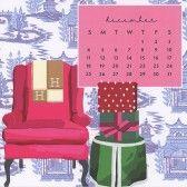 Sweet Caroline Designs Desk Calendar 2016 December