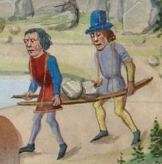 Grant, Medieval Life, Medieval Clothing, Date, Farming, Europe, Culture, Painting, Painting Art
