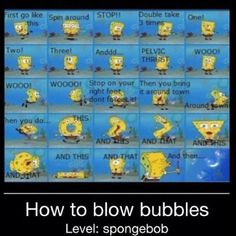 I do this lesson every time I blow bubbles