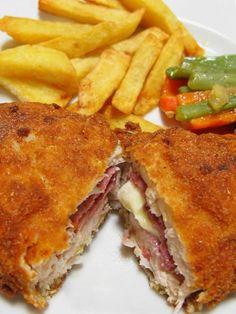 Kuracie stehná plnené syrom a slaninou - Recept pre každého kuchára, množstvo receptov pre pečenie a varenie. Recepty pre chutný život. Slovenské jedlá a medzinárodná kuchyňa