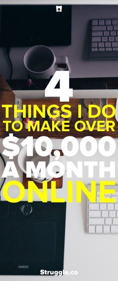 Anyone can make money online from home or wherever they want. Here are the 4 ways that I make money from home with my websites. #incomefromhomegetcareer
