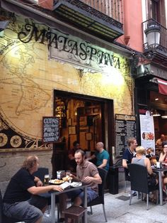 Madrid Tapas, Bar Madrid, Spain Culture, Canary Islands, Street Photo, Spanish, World, Places, Travel