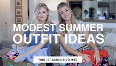 {VIDEO} Modest Summer Outfit Ideas