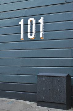 101 / lovely house numbers