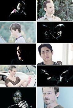 "The Original Five ""Rick, Daryl, Carol, Glenn, and Carl"" ~ The Walking Dead ~ The Atlanta Five"