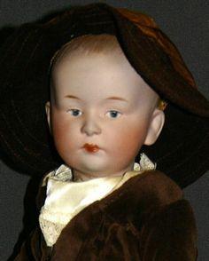 Antique German Bisque Doll Gebruder Heubach 7602   eBay