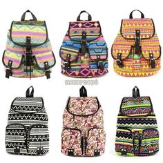 Fashion Women Vintage Cute Flower Fl Bag Bookbag Backpack Schoolbag New Backpacks For Schoolcool