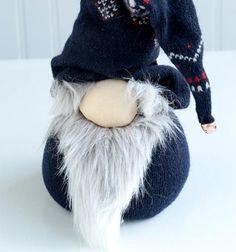 DIY no-sewn skandinavian Christmas gnomes (Tomtes) // Karácsonyi skandináv stílusú manók házilag egyszerűen (varrás nélkül) // Mindy - craft tutorial collection