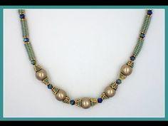 Herringbone Tube Beads (Tube-Tastic Necklace)  ~ Seed Bead Tutorials