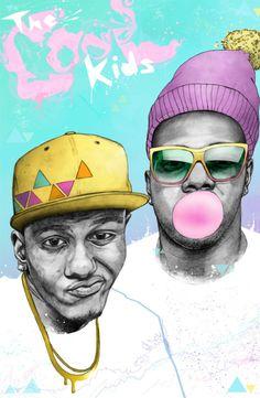 Hip Hop Ilustration