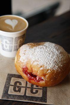 Delicious Raspberry Donut
