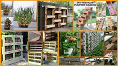 13 Space Saving DIY Vertical Gardens