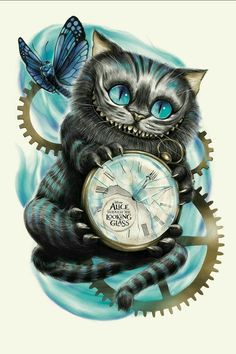 Like this cat from alive in wonderland