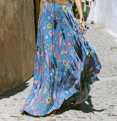 Falda boho ref. 02. La mejor selección de faldas estilo boho-hippie- b40a26073b18