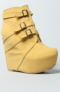 *Sole Boutique The Janne Shoe in Yellow : MissKL.com - Cutting Edge Women's Fashion, Accessories and Shoes.