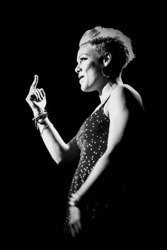 """""""…look on stage and behind-the-scenes of singer P!nk's tour. Letanguerrant is a cosmopolitan. Francis Chan, Alecia Moore, Attitude, Pink Quotes, Badass Women, Female Singers, Music Is Life, Music Bands, Role Models"""