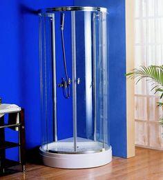 small corner shower units