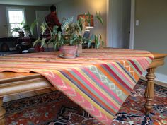 Large woven South American textile Pachamama by NOAtextiles, $420.00