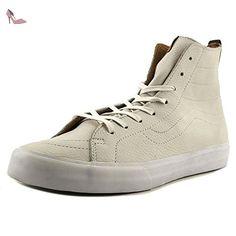 Vans Sk8-Hi, Sneakers Hautes Mixte Enfant, Bleu (MTE Navy/Pink) 34.5 EU