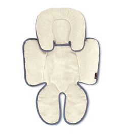 The Britax Head & Body Support Pillow has a reversible design with plush fleece on one side and moisture-control fabric on the other to offer all-season temperature control.