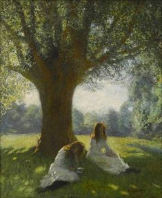 View The spreading tree by Sir George Clausen on artnet. Browse upcoming and past auction lots by Sir George Clausen. Photographie Portrait Inspiration, Classical Art, Renaissance Art, Old Art, Pretty Art, Aesthetic Art, Pretty Pictures, Oeuvre D'art, Impressionism