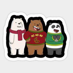 Tumblr Stickers, Cute Stickers, Cartoon Network, Panda, We Bare Bears Wallpapers, Bear Illustration, We Bear, Image Fun, Bear Wallpaper