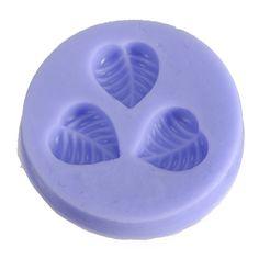 Chocolate del molde de la jalea del silicón 3D Mini Fondant DIY Flor Cake Mold - US $ 2.79