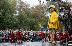 Do you know about Royal de Luxe? The world's finest mechanical marionette street theatre company? Amazing.