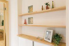 カントリー調の可愛らしさを漂わせた天然無垢材標準施工の心地良い家|株式会社 岡山ウッドハウスの建築実例|ステップハウス注文住宅