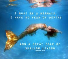 Mermaid | via Tumblr | We Heart It