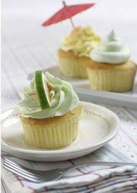 super sweet sugar: Cuptails? Margarita Cocktail Cupcakes - recipe