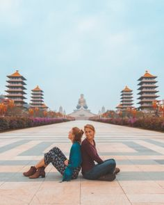 One of Taiwan's most popular tourist-spots is the Fo Guang Shan Buddha Museum in Kaohsiung, Taiwan Taipei Travel, Singapore Travel, Asia Travel, Travel Pose, Travel Photos, Beach Trip, Vacation Trips, Beach Travel, Dream Vacations