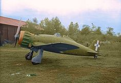 Macchi C.200 Saetta :  was a World War II Italian fighter aircraft