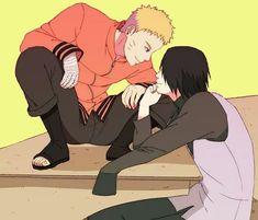 In the name of love [Naruto y Sasuke] Naruto Vs Sasuke, Kakashi Hatake, Hinata, Naruto Cute, Naruto Funny, Anime Naruto, Sasunaru, Narusaku, Akatsuki