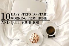 10 Easy steps to start working from Home and quit your job Weight Loss Drinks, Fast Weight Loss, How To Lose Weight Fast, Make Blog, How To Start A Blog, How To Make Money, Lose 15 Pounds, Losing 10 Pounds, Hate My Job
