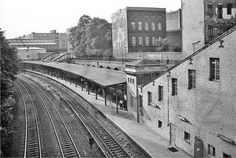 Berlin, S-Bahnhof Schönhauser Allee Hintereingang 30.7.1986 Foto - Gerd Danigel - Fotograf aus Berlin