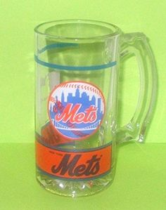 Vintage New York Mets Heavy Glass Beer Mug 1991 MLB Collectible Cup Major League Baseball - New York Mets http://www.amazon.com/dp/B00VFDS2ZG/ref=cm_sw_r_pi_dp_HVKgvb0WMA89B